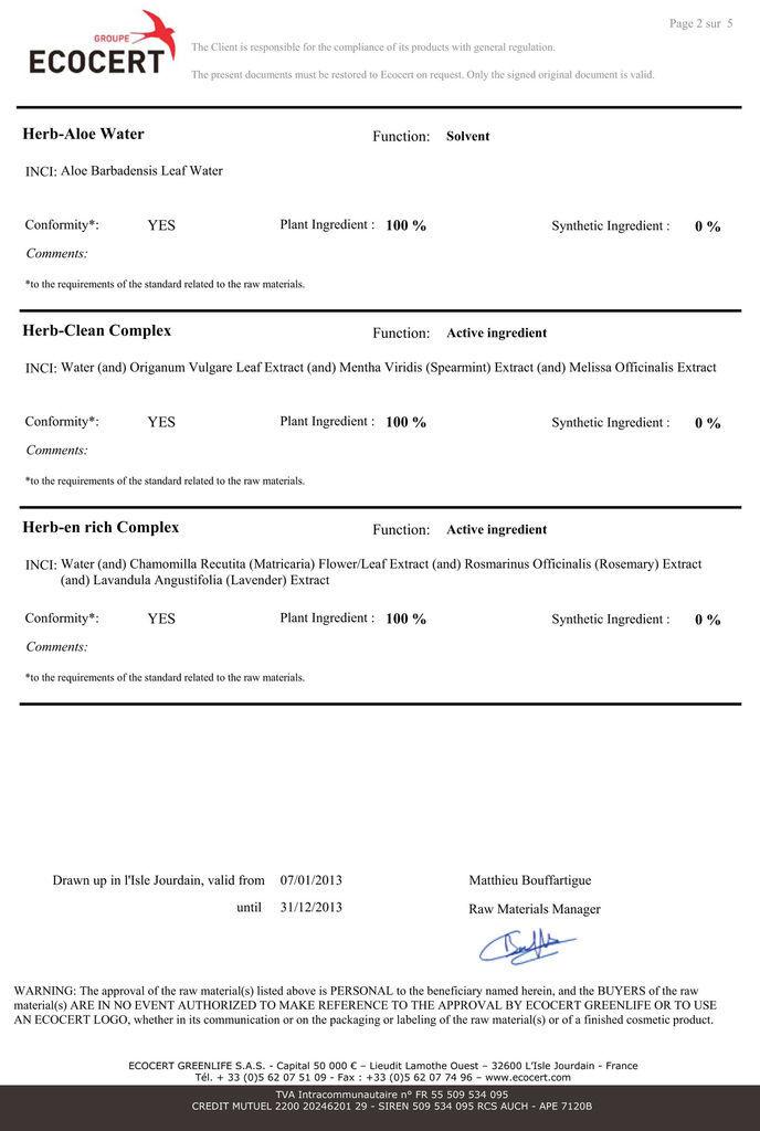 ECO certificate_fabric softner-1