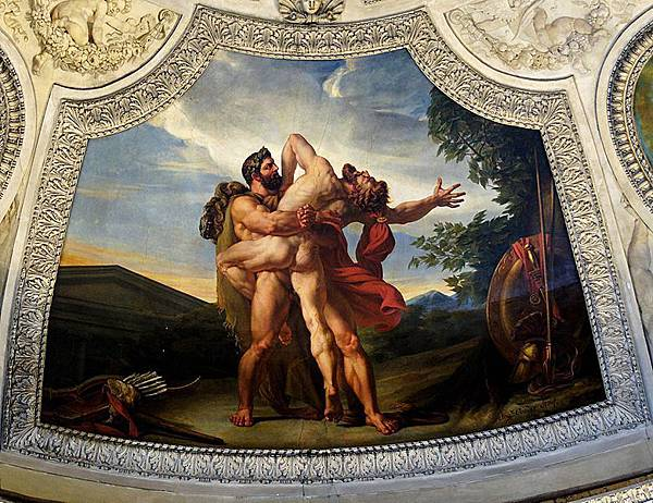 The Earth, or the Fight of Heracles and Antaeus
