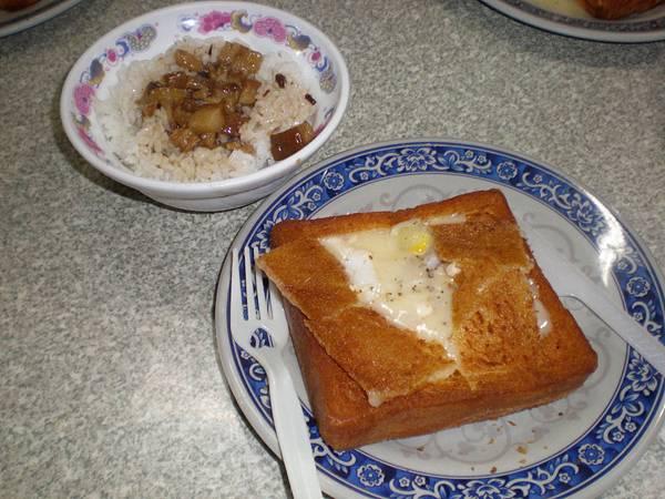 臺灣小吃 - 棺材板 肉燥飯