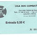 葡萄牙 里斯本 貝倫區洗手間收費收據