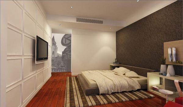 (改) 基本都ok,但床不對,地上也不會用那種地毯,後面牆也不會是這種璧紙