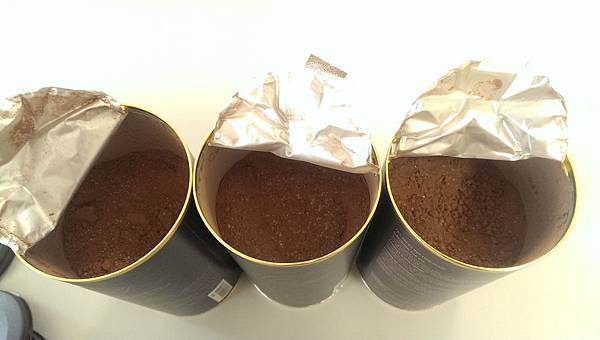 三款巧克力粉