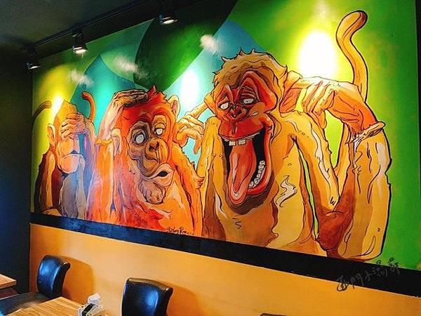 【桃園美食】Two Monkeys 美式早午餐,清心悠閒親子同樂,周末帶小孩來好好吃飯吧。