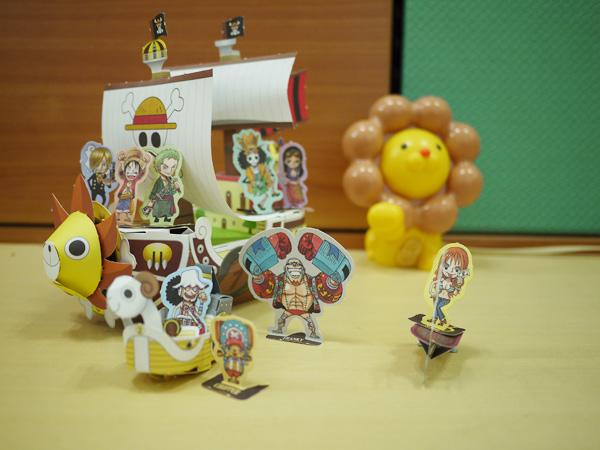海賊王紙模型