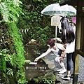 貴船神社的水占卜