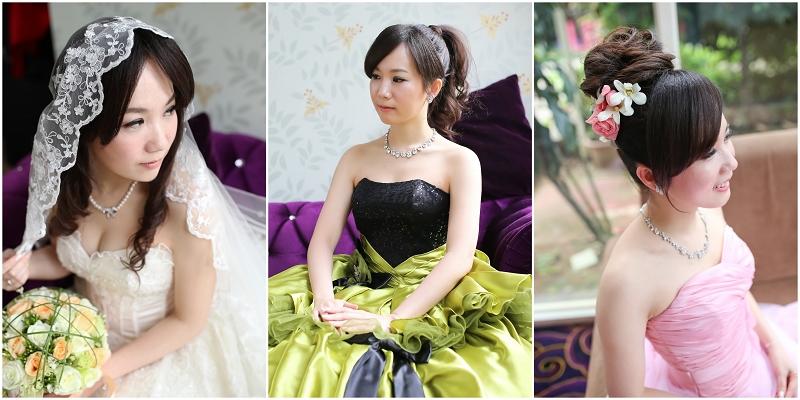 新秘Yuki│新娘造型│新娘髮型