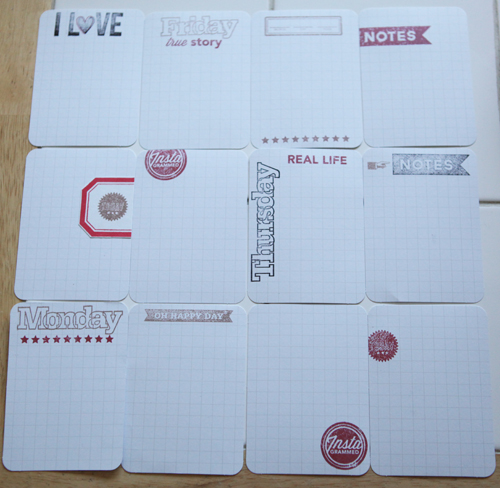 Made your own journaling cards