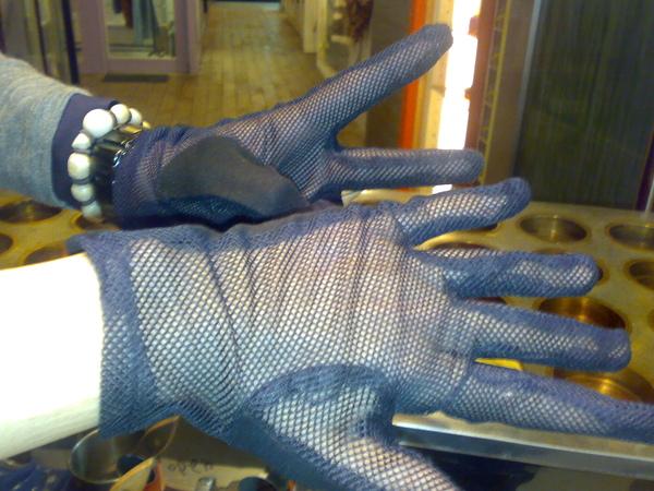 性感蕾絲手套