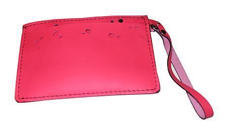 拉鍊粉紅小提包1