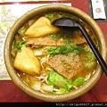 2012-02-20 蒜香燒豬排麵-1