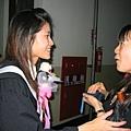 從日本來的交換學生,也很謝謝香齊這段時間的照顧說