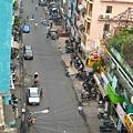 從我家陽台拍的街景