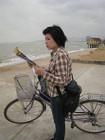今天是租腳踏車一日遊