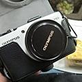阿伯送給蛋塔的新相機