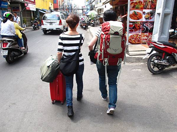 背包客與第一次自助行的組合