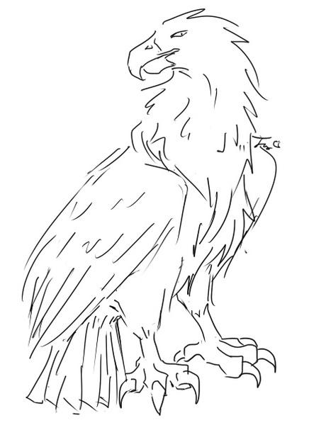 攻擊靈 - 炎鷹