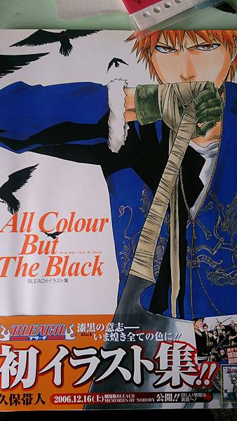 BLEACHイラスト集―All Colour But The Black