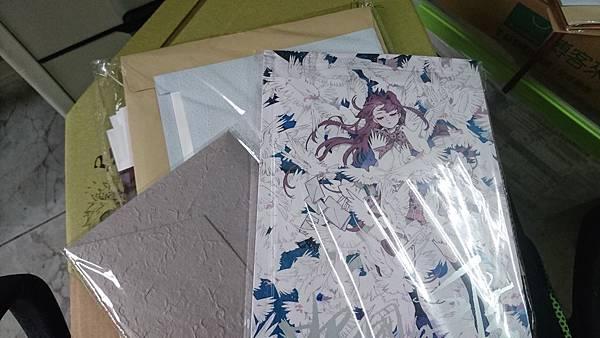 《北國的書信》畫卡+漫畫集