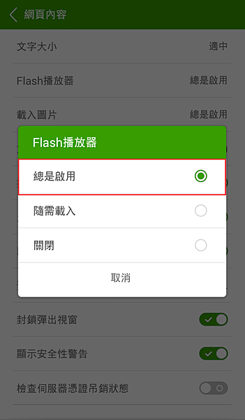 自動載入flash5