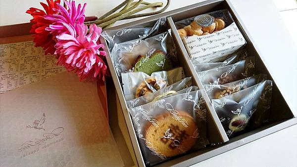 【Wedding婚禮】喜餅推薦:台中手工喜餅分享,Babyface手工烘培,璀璨奢華喜餅禮盒流金款,高質感美型好吃喜餅