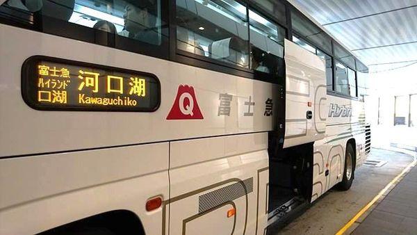 【日本東京】新宿到河口湖交通攻略:新宿高速巴士購票與搭乘,搭巴士到河口湖自助旅行_巴士