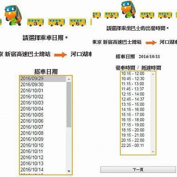 【日本東京】新宿到河口湖交通攻略:新宿高速巴士購票與搭乘,搭巴士到河口湖自助旅行_時刻表