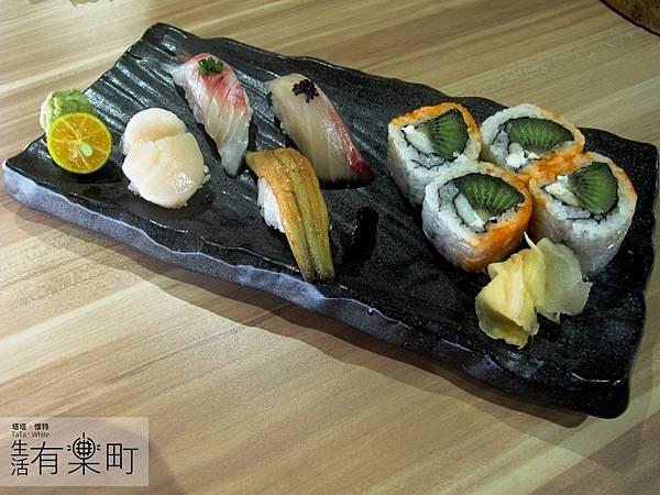 【新竹東區美食】松江屋慈雲店:高CP值推薦,平價美味的日式料理!握壽司