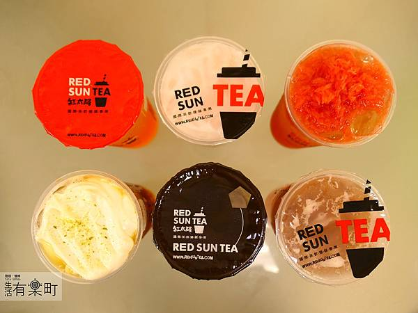 【台北大安】紅太陽茶飲Mr.SUN:南部手搖杯霸主襲來,天然健康彩色珍珠,玫瑰拿鐵太陽特調女孩最愛,近東區SOGO市民大道_P1000462