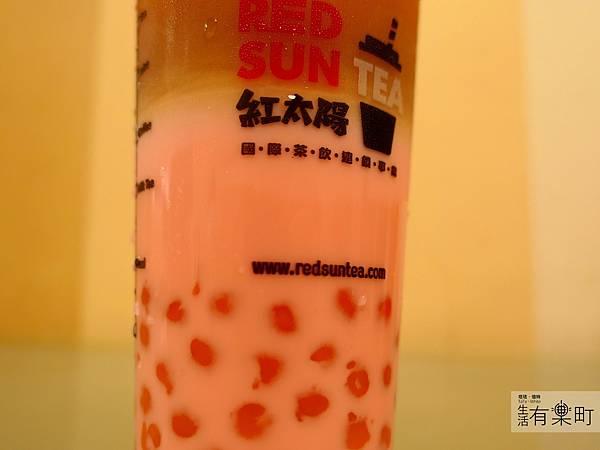 【台北大安】紅太陽茶飲Mr.SUN:南部手搖杯霸主襲來,天然健康彩色珍珠,玫瑰拿鐵太陽特調女孩最愛,近東區SOGO市民大道_P1000455