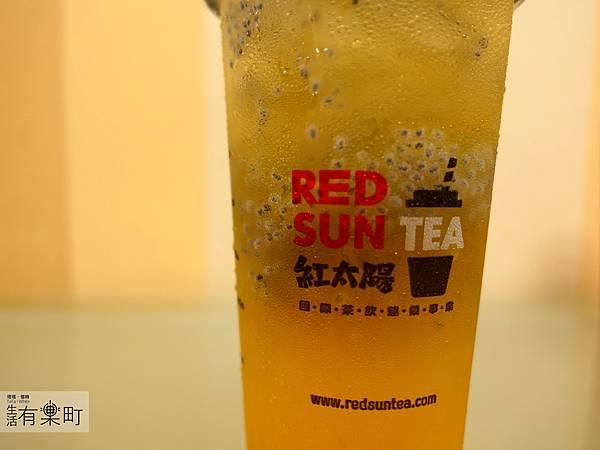 【台北大安】紅太陽茶飲Mr.SUN:南部手搖杯霸主襲來,天然健康彩色珍珠,玫瑰拿鐵太陽特調女孩最愛,近東區SOGO市民大道_P1000461