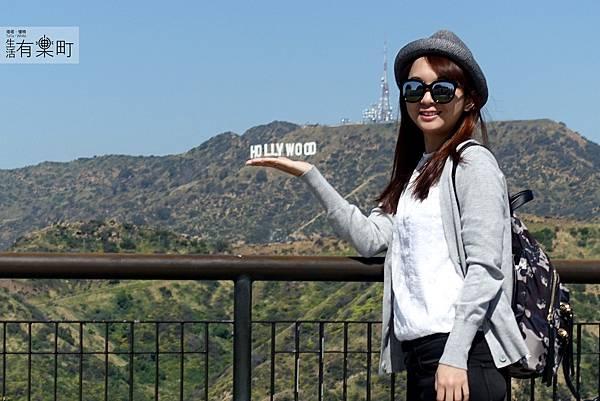 【美西洛杉磯景點】好萊塢標誌 Hollywood Sign:洛杉磯自助旅行必訪,遠眺好萊塢標誌,拍照好地點推薦,近格里菲斯天文台