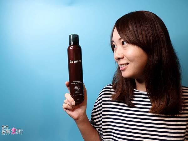 日本洗髮精開箱 Le ment碳酸精油深層淨化洗髮精 受損髮專用 -1250.jpg