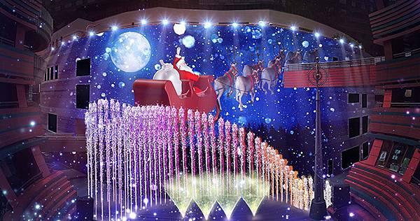 博多運河城聖誕快樂水舞秀.jpg