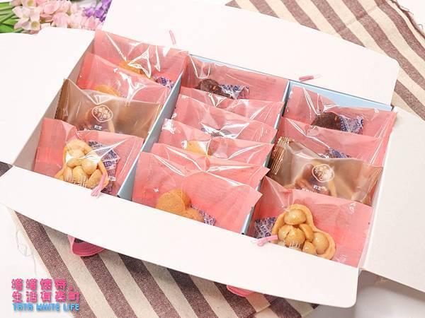 彌月禮盒推薦,鴻鼎菓子彌月堅果塔,手工餅乾曲奇餅,媽媽手冊試吃方案介紹-4876.jpg