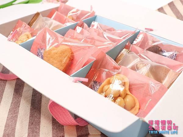 彌月禮盒推薦,鴻鼎菓子彌月堅果塔,手工餅乾曲奇餅,媽媽手冊試吃方案介紹-4880.jpg
