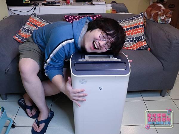 【家電開箱】BD冰點除濕機:台灣製造14公升節能清淨除濕機,低功率節能省電環保;一機多用超方便,居家必備家電分享-7583.jpg