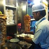 shawarma stand