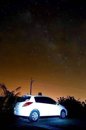 白白與銀河,本次旅行的重點