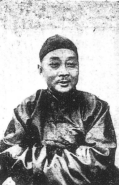 02.出身台灣新竹的謝介石,當上滿洲國外交總長,可說是台灣第一人。照片黃光國提供