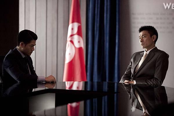 郭富城劉德華相隔19年的合作,影帝對決相當精彩01