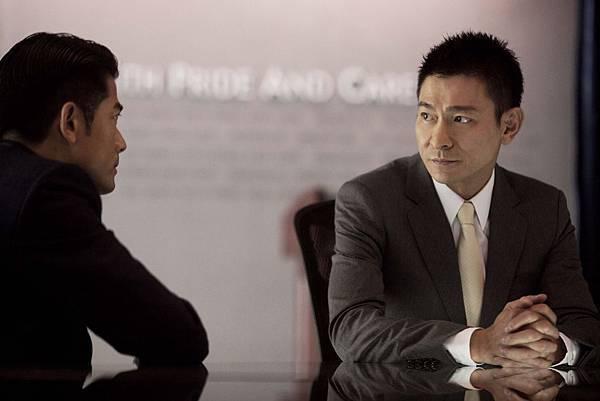 郭富城劉德華相隔19年的合作,影帝對決相當精彩02