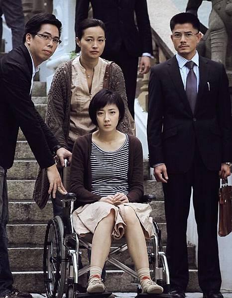 桂綸鎂飾演的下半身癱瘓殘障鋼琴老師,每次出現都「淚光閃閃」2