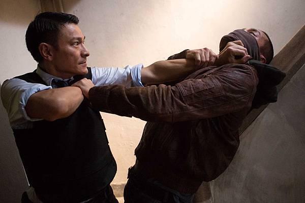 林家棟為《風暴》花了一個半月學習巴西柔術,劉德華讚美他苦練有成
