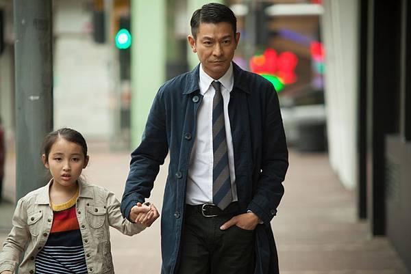劉德華與片中小女孩戲份盡顯父愛,也是片中華仔角色性格變化的一大關鍵