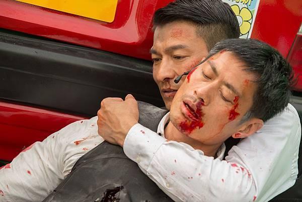 《風暴》中驚險的動作場面火爆刺激,在台灣上映初審被核定為「限制級」