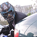 張家輝《魔警》頭戴鬼王面具犯案,象徵比鬼還惡的賊 (2)