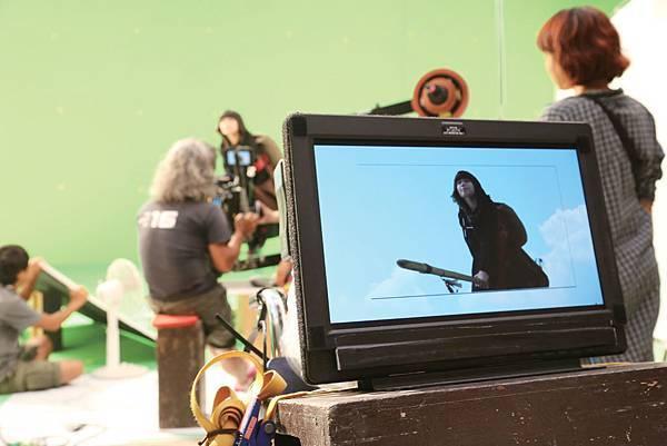 魔女飛天鏡頭特別選在全世界第一座「4D View」攝影棚拍攝04