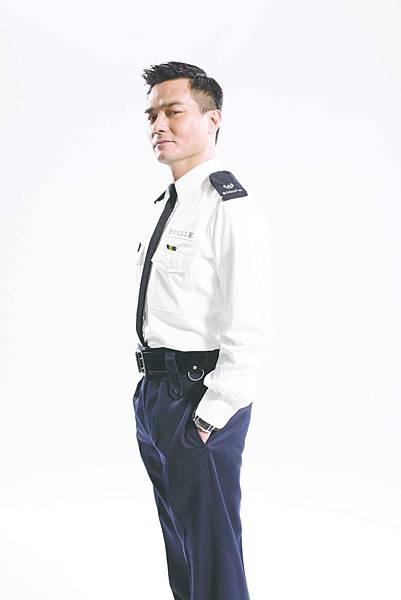 林家棟飾演涉嫌受賄的狡猾警官1