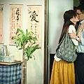張家輝與劉心悠上演吻戲