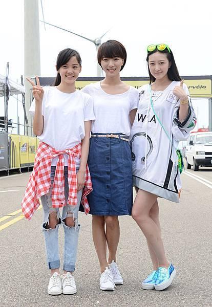 三位女生合照(歐陽娜娜│